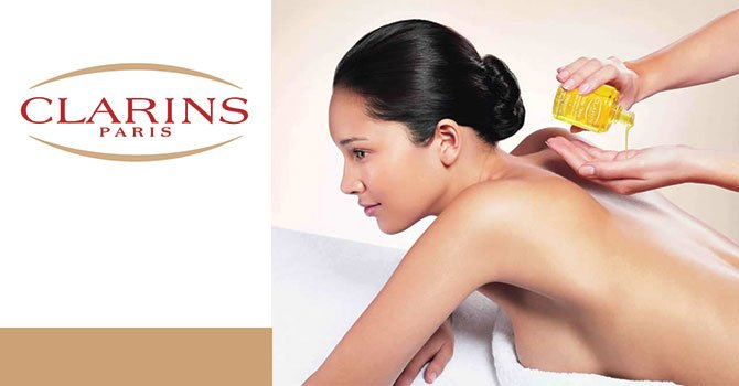 Clarins body lift sculptor spa by kasia for Clarins salon